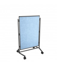 "Best-Rite B795AC-VV Modifier XV Vinyl 28"" x 41"" Adjustable Height Mobile Easel"