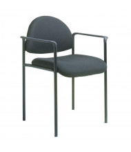 Boss B9501 Contemporary Stacking Guest Chair (Shown in Black)