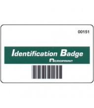 Acroprint TQ600BC Barcode Badges