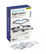 Bausch & Lomb Sight Savers Premoistened Lens Cleaning Tissues, 1,000/Pack
