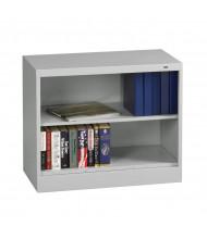"Tennsco Standard Welded 36"" W x 18"" D Bookcases in Light Grey (30"" H)"