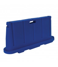 "Vestil 76.5"" L x 36"" H Jumbo Poly Barricade (in blue)"