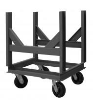 Durham Steel 4000 to 10,000 lb Load Bar Cradle Trucks (2 Cradle Model)