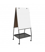 Best-Rite 759 Wheasel Height Adjustable Melamine Mobile Easel