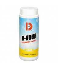 "Big D D-Vour 16 oz. Absorbent Powder, 6.5"" W x 9.3"" L x 8.5"" H, 6/Pack"