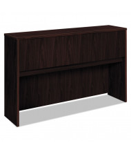 "Basyx BL 60"" 4-Door Laminate Hutch, Mahogany"