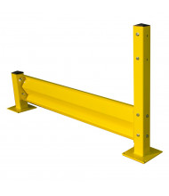 Bluff Tuff Guard TGR Steel Safety Rails (Shown with Optional Tube Posts, Available Separately)
