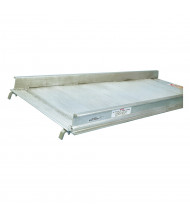 Bluff 1000 to 3000 lb Load Hook Aluminum Walk Ramps