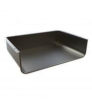 "Balt 17"" W x 12"" D Enclosed Book Box for Balt Snap Desk (Shown in Black)"