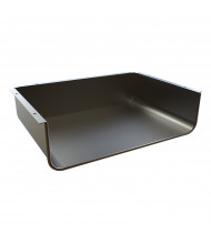 "Balt 12"" x 17"" Enclosed Book Box for Balt Snap Desk, Black"