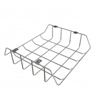 Balt Wire Book Box for Balt Shapes Desk, Chrome