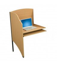 Balt Deluxe Add-a-Carrel, Teak