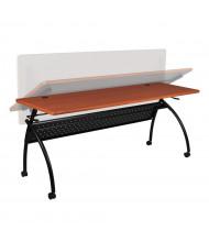 "Balt Chi 60"" W x 24"" D Nesting Flipper Training Table (Shown in Cherry)"