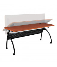 "Balt Chi 72"" W x 24"" D Nesting Flipper Training Table (Shown in Cherry)"