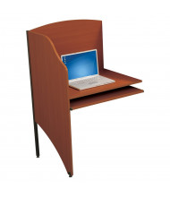 Balt Student Add-A-Carrel Study Carrel (Shown in Cherry)