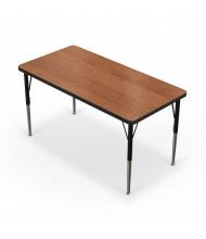 "Balt 48"" x 24"" Rectangle Classroom Activity Table (Amber Cherry)"