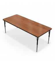 "Balt 72"" x 30"" Rectangle Classroom Activity Table (Amber Cherry)"