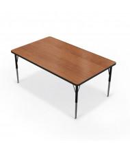 "Balt 60"" x 48"" Rectangle Classroom Activity Table (Amber Cherry)"