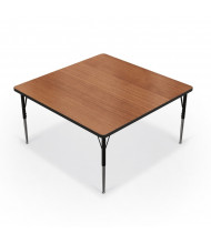 "Balt 48"" x 48"" Square Classroom Activity Table (Amber Cherry)"