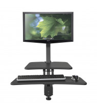 Balt Up-Rite 90530 Single Monitor Sit-Stand Converter Desk Mount