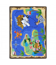 Joy Carpets Books Are Treasures Rectangle Classroom Rug