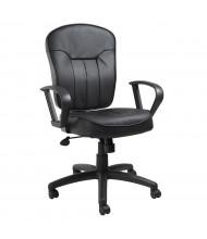 Boss B1562 LeatherPlus Mid-Back Task Chair