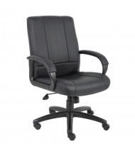 Boss B7906 CaressoftPlus Mid-Back Executive Office Chair