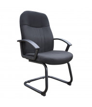 Boss B8309 Ergonomic Fabric High-Back Guest Chair