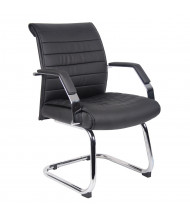 Boss B9449 Ribbed CaressoftPlus Mid-Back Guest Chair