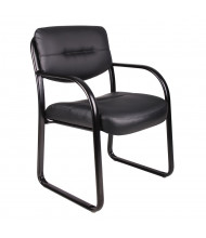 Boss B9529 LeatherPlus Low-Back Guest Chair