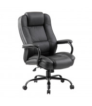 Boss B992 Big & Tall 350 lb. Heavy-Duty LeatherPlus High-Back Executive Office Chair