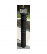 "Vestil Metro with UV Light 57"" H Poly Bollard Cover Post Protector Sleeve (Shown in Black)"