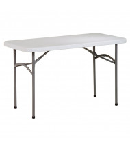 "Office Star BT04Q 48"" x 24"" Rectangular Multi-Purpose Folding Resin Table"