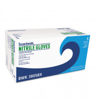 Boardwalk Disposable General-Purpose Nitrile Gloves, Small, Blue, 4 mil, 1000/Pack