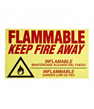 Eagle C-97 Flammable Keep Fire Away Label