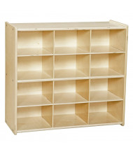 Wood Designs Contender Baltic Birch 12-Cubby Storage Unit