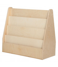 Wood Designs Contender Double Sided Book Display