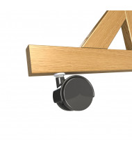Ghent C4 Casters for Wood Frame Reversible Units Only - 4/Set