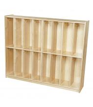 Wood Designs Contender Baltic Birch Twin Trim Locker Unit