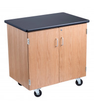 "NPS 36"" W Mobile Storage Cabinet Science Lab Table"