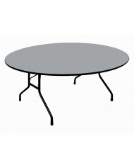 "Correll 48"" Round Melamine Folding Table (Shown in Granite)"
