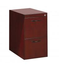 Mayline Corsica CFFC 2-Drawer File/File Credenza Pedestal Cabinet (Shown in Mahogany)