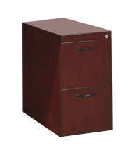 Mayline Corsica CFFD 2-Drawer File/File Desk Pedestal Cabinet (Shown in Mahogany)