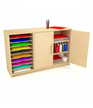 Whitney Brothers Art Paper Center Storage Cabinet
