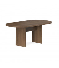 Cherryman Amber 6 ft Racetrack Conference Table (Shown in Walnut)