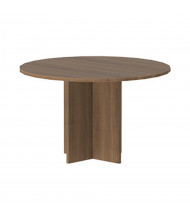 "Cherryman Amber 42"" Round Conference Table (Shown in Walnut)"