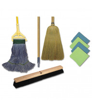 Boardwalk Complete Cleaning Kit, 60in Handle