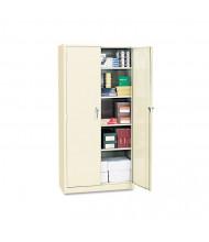 """Alera CM7218PY 36"""" W x 18"""" D x 72"""" H Storage Cabinet in Putty, Assembled"""