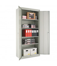 "Alera CM7818LG 36"" W x 18"" D x 78"" H Storage Cabinet in Light Grey, Assembled"