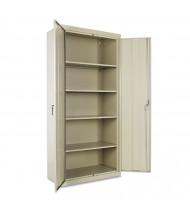 """Alera CM7818PY 36"""" W x 18"""" D x 78"""" H Storage Cabinet in Putty, Assembled"""